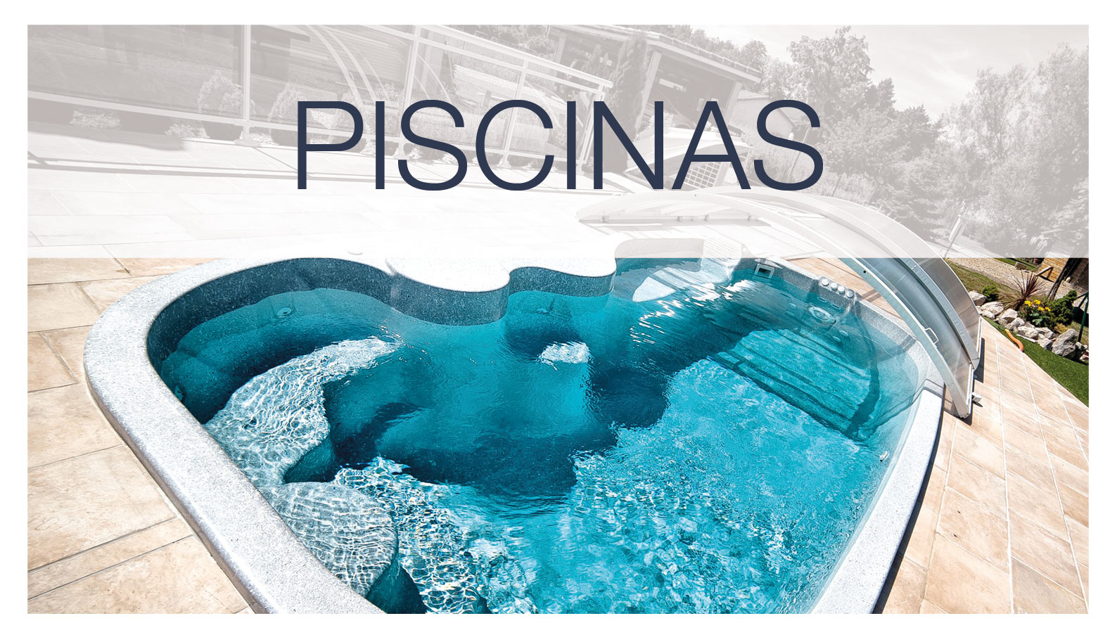 Un modelo de piscina de Freedom Pools Center